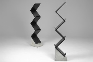 'Zink' book shelves