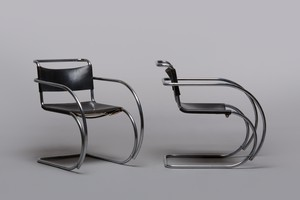 Pair of Armchairs, Model no. MR-20