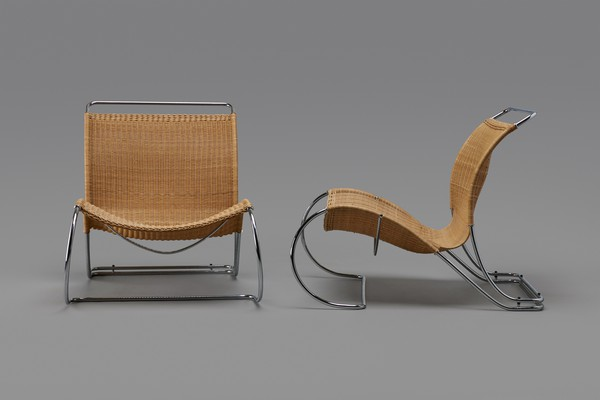 Pair of Armchairs, Model no. BO 961