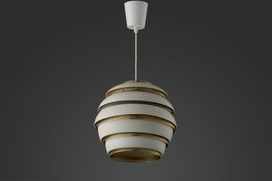 'Beehive' Ceiling Lamp, Model no. A 331
