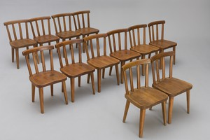 "Set of Twelve ""Utö"" Chairs"