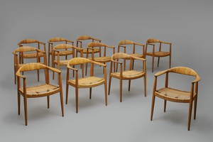 "Set of Twelve ""The Chair"""