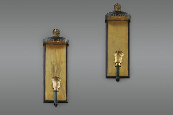 Pair of Swedish Grace Wall Lamps