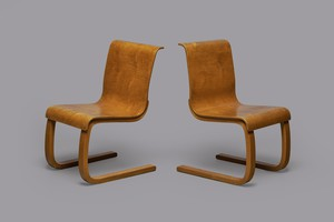 Pair of Canteliver Chairs, Model no. 21