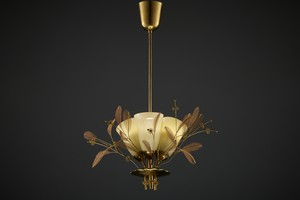 'Bridal Bouquet' Ceiling Lamp, Model no. 9029/3