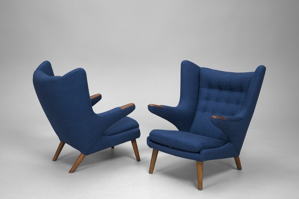 "Pair of ""Papa Bear"" Chairs"