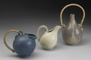 Group of Three Pots