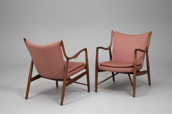 "Pair of ""NV-45""  Armchairs"