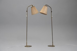 Pair of Floor Lamps, Model no. 9627