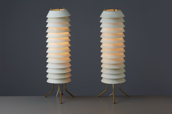 Pair of 'Mija the Bee' Table Lamps