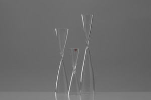 "Set of Three ""Hourglass"" Vases"