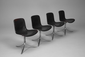 Set of Four PK-9 Chairs