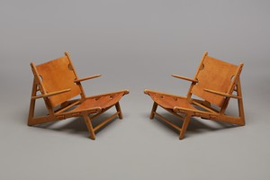Pair of 'Hunting' Armchairs, Model no. 2229