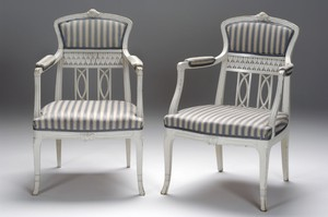 Pair of Art Nouveau Armchairs