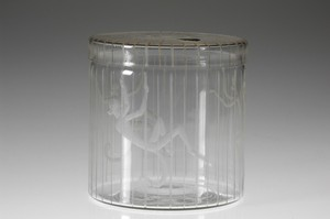 'Monkey Cage' Lidded Jar