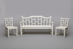 Bench and Armchair Suite