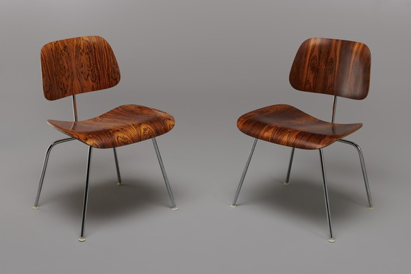 Set of four 'DCM' Chairs