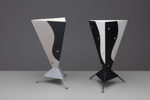 Yin and Yang Table Lamps