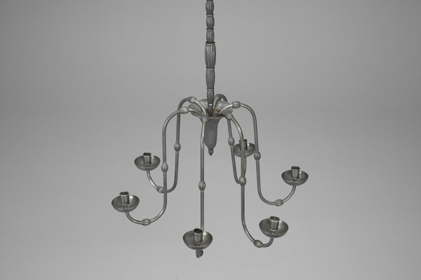 Pewter Chandelier