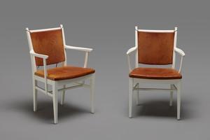 Pair of 'Solna' Armchairs