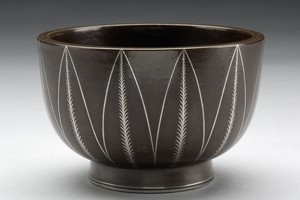 Brown Argenta Bowl