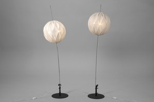 "Pair of ""Napoleon by the Nile"" Floor Lamps"