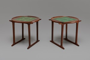 Pair of Tray Tables, Model 453