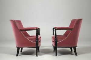 Pair of 'Carlton' Armchairs