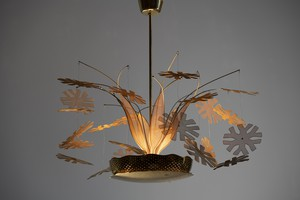 'Snowflake' Ceiling Light, Model no. 10109