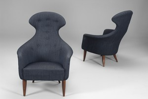 "Pair of ""Big Eva"" Armchairs"