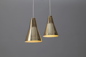 Pair of Ceiling Lamps, model no. 1995