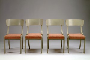 Set of Four Finnish Neoclassical Chairs