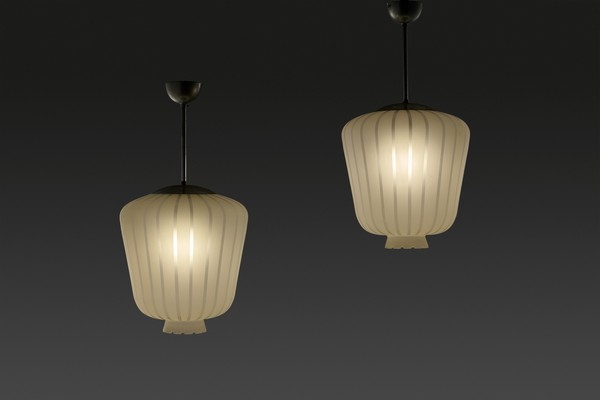 Pair of Ceiling Lamps
