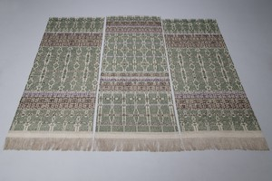 Set of Three Textiles