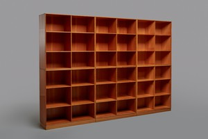 Set of Six Bookcases