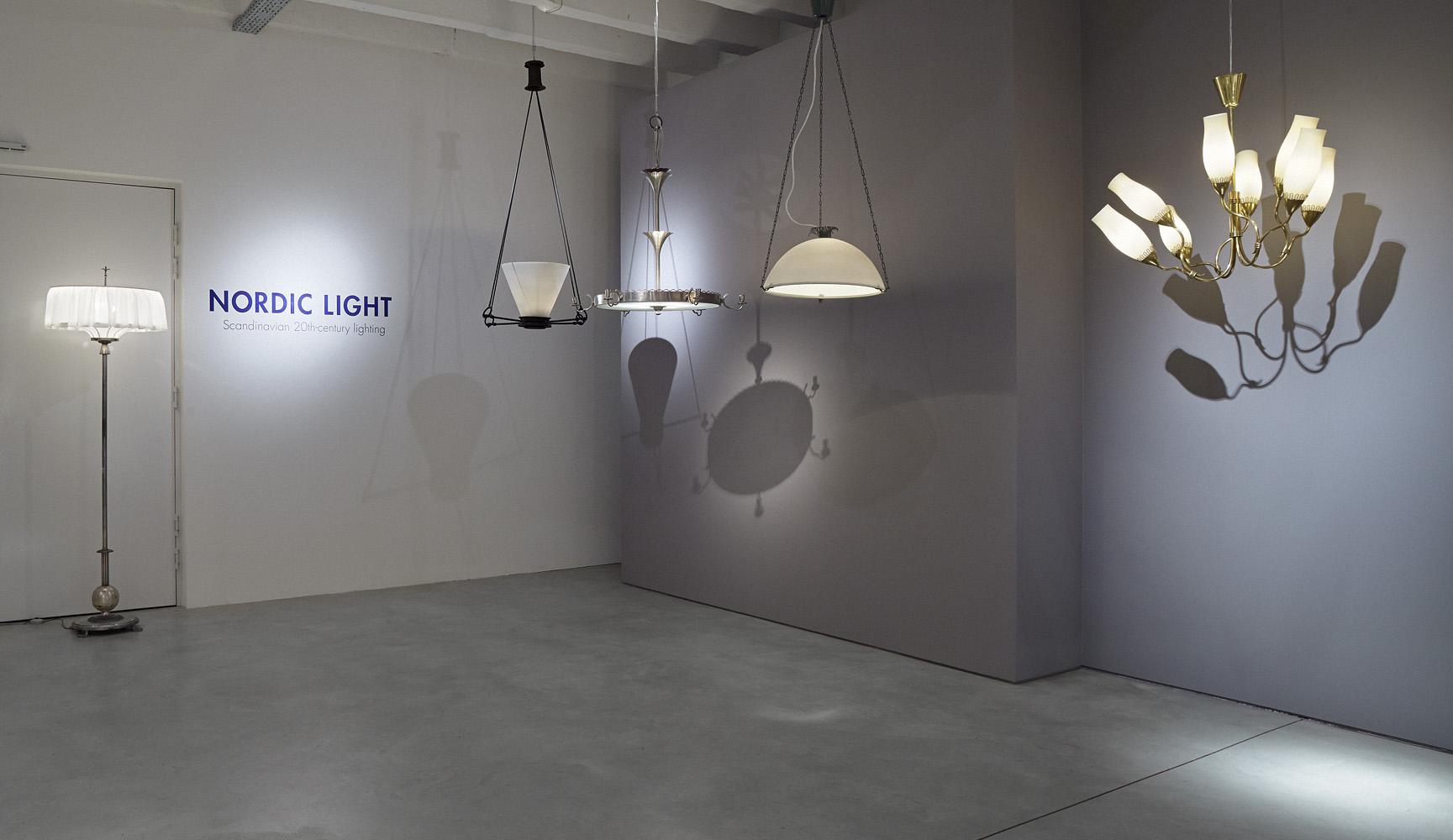 nordic lighting. Exhibition View No. Nordic Lighting K