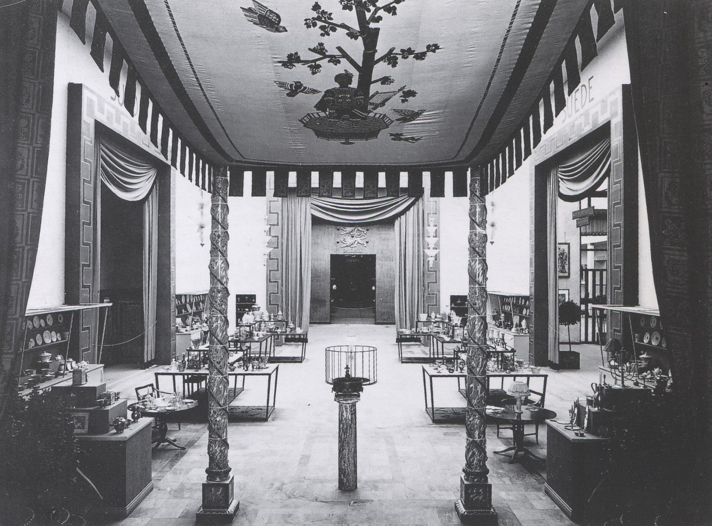 The Swedish National Pavilion in Paris 1925, designed by architect Carl  Bergsten | pin | Pinterest | Pavilion, Nordic classicism and Architects
