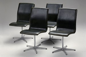 Set of Four Jacobsens Oxford Chairs