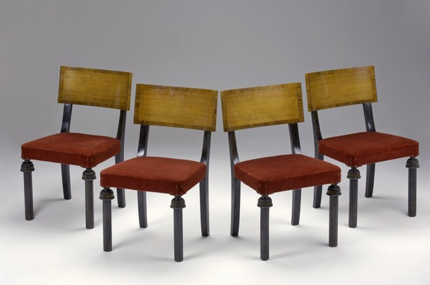 Large image of Set of Four Chairs