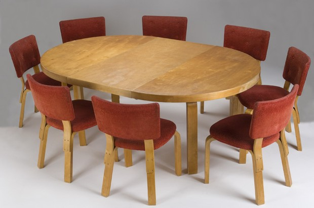 Large image of Alvar Aalto Dining Set