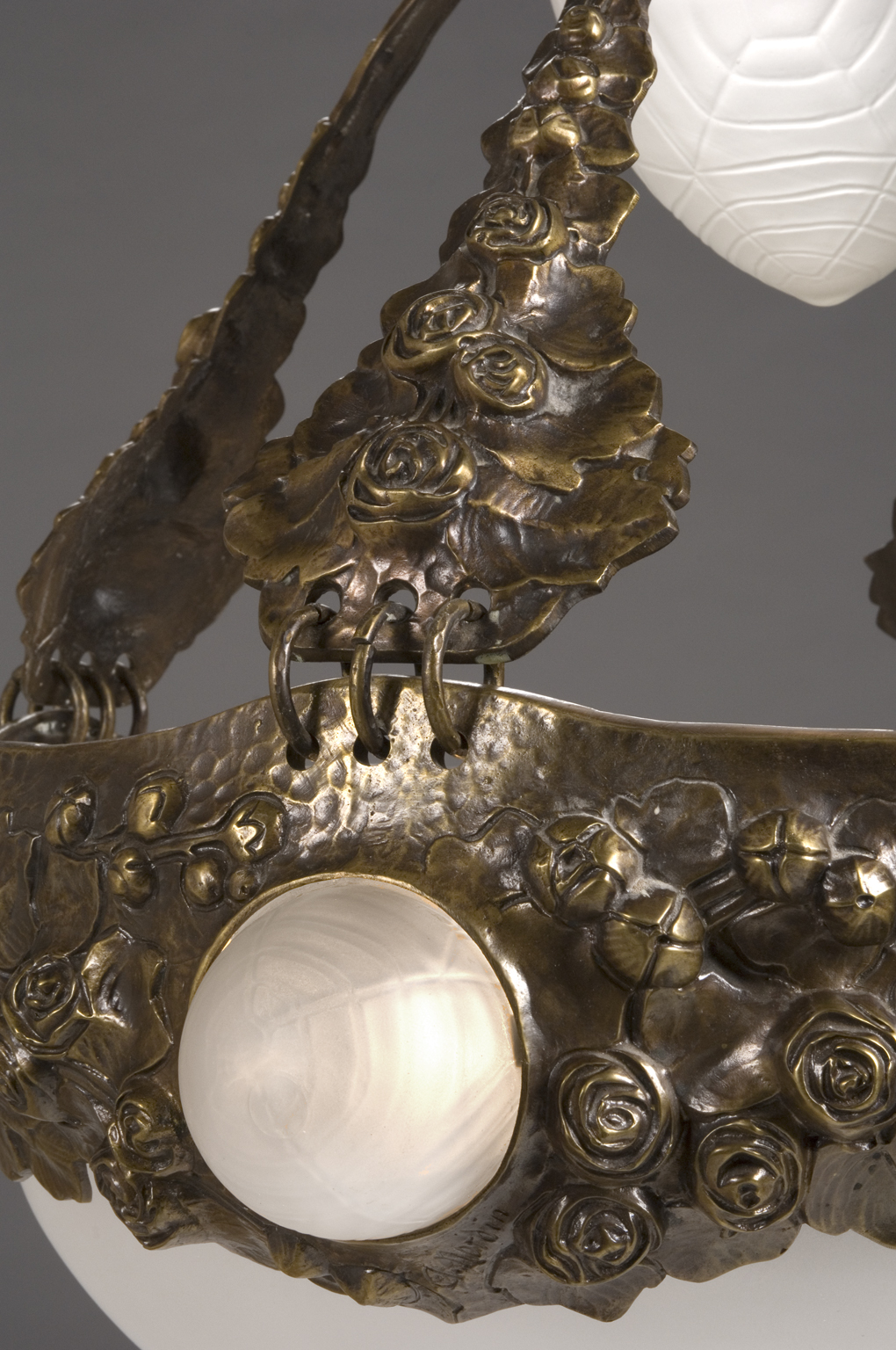 Bronze Ceiling Lamp