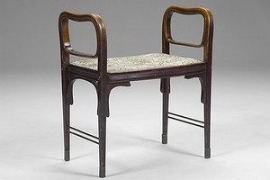 Otto Wagner Stool Model 412