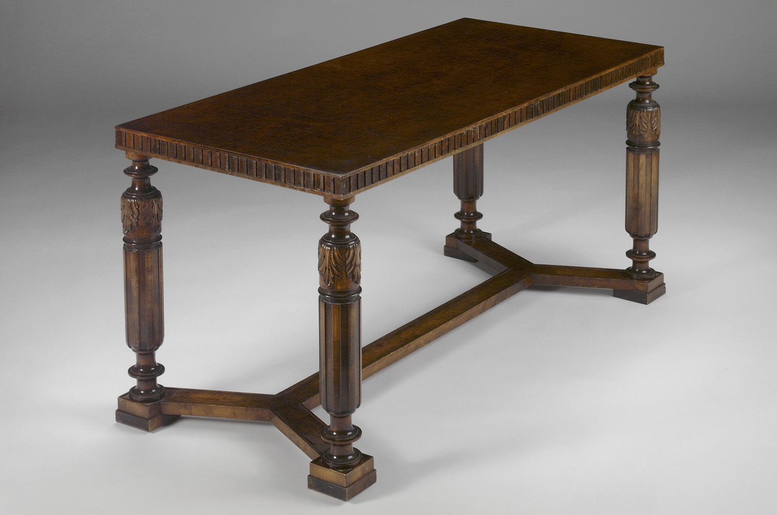 Neoclassical consol table