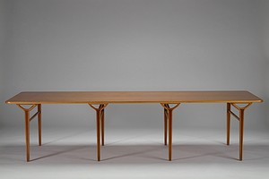 "Large Peter Hvidt-""AX"" Table"
