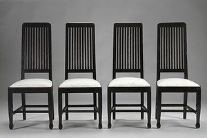 Four Carl Westman Chairs