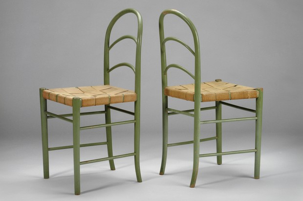 Large image of Pair of Bentwood Chairs