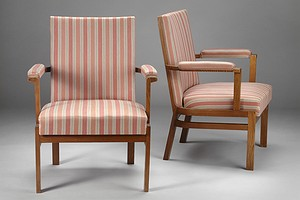 Carl Bergsten-Pair of armchairs