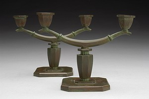 Bronze Candlesticks