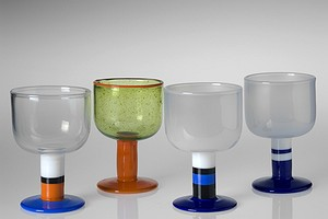 Group of Pop Glasses