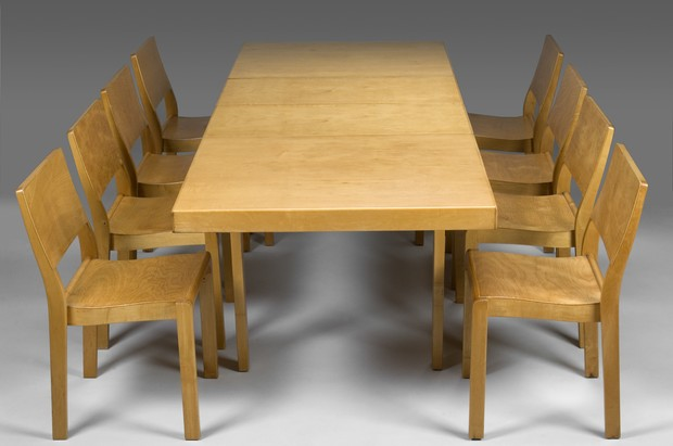 Large image of Aalto Dining Set